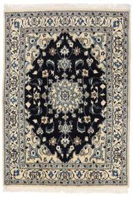 Nain Matta 145X205 Äkta Orientalisk Handknuten Mörkgrå/Ljusgrå (Ull, Persien/Iran)