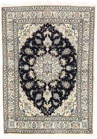 Nain Matta 144X207 Äkta Orientalisk Handknuten Ljusgrå/Beige (Ull, Persien/Iran)