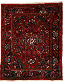 Lillian Matta 164X205 Äkta Orientalisk Handknuten Mörkröd/Röd (Ull, Persien/Iran)