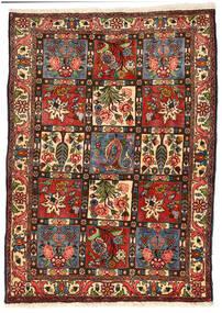 Bakhtiar Collectible Matta 114X158 Äkta Orientalisk Handknuten Svart/Mörkgrön (Ull, Persien/Iran)