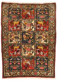Bakhtiar Collectible Matta 107X145 Äkta Orientalisk Handknuten Svart/Röd (Ull, Persien/Iran)