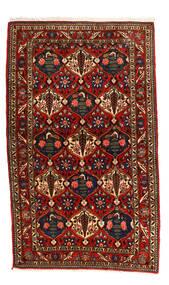 Bakhtiar Collectible Matta 115X155 Äkta Orientalisk Handknuten Svart/Roströd (Ull, Persien/Iran)