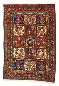 Bakhtiar Collectible Matta 108X156 Äkta Orientalisk Handknuten Svart/Röd (Ull, Persien/Iran)