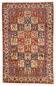 Bakhtiar Collectible Matta 203X323 Äkta Orientalisk Handknuten Mörkröd/Svart (Ull, Persien/Iran)