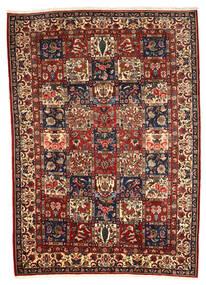 Bakhtiar Collectible Matta 208X290 Äkta Orientalisk Handknuten Mörkbrun/Ljusbrun (Ull, Persien/Iran)