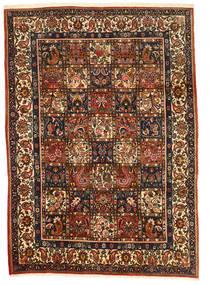 Bakhtiar Collectible Matta 206X290 Äkta Orientalisk Handknuten Mörkbrun/Röd (Ull, Persien/Iran)