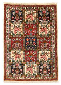 Bakhtiar Collectible Matta 107X151 Äkta Orientalisk Handknuten Svart/Beige (Ull, Persien/Iran)