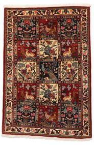 Bakhtiar Collectible Matta 106X152 Äkta Orientalisk Handknuten Mörkbrun/Mörkröd (Ull, Persien/Iran)
