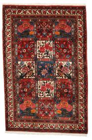 Bakhtiar Collectible Matta 111X168 Äkta Orientalisk Handknuten Mörkröd/Mörkbrun (Ull, Persien/Iran)
