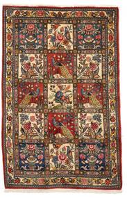 Bakhtiar Collectible Matta 106X162 Äkta Orientalisk Handknuten Mörkbrun/Mörkröd (Ull, Persien/Iran)
