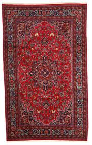 Mashad Matta 200X320 Äkta Orientalisk Handknuten Mörkröd/Mörkbrun (Ull, Persien/Iran)