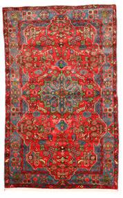 Nahavand Old Matta 164X260 Äkta Orientalisk Handknuten Mörkröd/Röd (Ull, Persien/Iran)