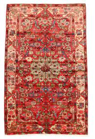 Nahavand Old Matta 160X250 Äkta Orientalisk Handknuten Roströd/Mörkröd (Ull, Persien/Iran)