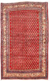 Arak Matta 125X205 Äkta Orientalisk Handknuten Mörkröd/Röd (Ull, Persien/Iran)