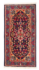 Kerman Matta 64X121 Äkta Orientalisk Handknuten (Ull, Persien/Iran)