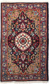 Kerman Matta 92X158 Äkta Orientalisk Handknuten (Ull, Persien/Iran)