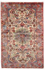 Nahavand Old Matta 152X236 Äkta Orientalisk Handknuten Ljusbrun/Mörkbrun (Ull, Persien/Iran)