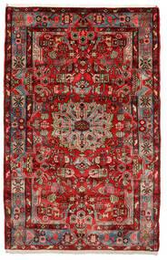 Nahavand Old Matta 153X243 Äkta Orientalisk Handknuten Mörkbrun/Svart (Ull, Persien/Iran)
