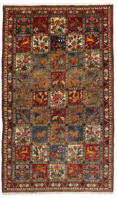 Bakhtiar Collectible Matta 155X247 Äkta Orientalisk Handknuten Svart/Mörkbrun (Ull, Persien/Iran)