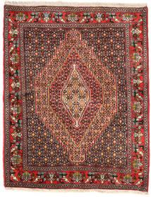 Senneh Matta 125X155 Äkta Orientalisk Handknuten (Ull, Persien/Iran)