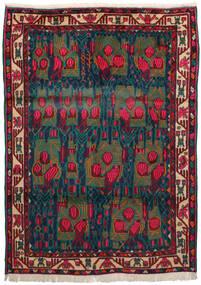 Afshar Matta 163X228 Äkta Orientalisk Handknuten Mörkröd/Mörkblå/Mörk Turkos (Ull, Persien/Iran)