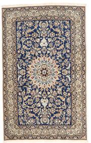 Nain Matta 157X252 Äkta Orientalisk Handknuten Ljusgrå/Mörklila (Ull, Persien/Iran)
