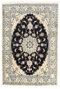 Nain Matta 170X250 Äkta Orientalisk Handknuten Vit/Cremefärgad/Svart (Ull, Persien/Iran)