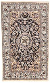 Nain Matta 153X252 Äkta Orientalisk Handknuten Beige/Ljusgrå (Ull, Persien/Iran)