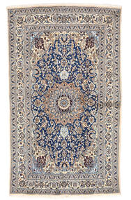 Nain Matta 155X262 Äkta Orientalisk Handknuten Ljusgrå/Beige (Ull, Persien/Iran)
