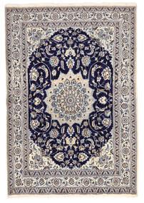 Nain Matta 168X246 Äkta Orientalisk Handknuten Mörkgrå/Ljusgrå (Ull, Persien/Iran)