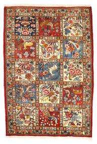 Bakhtiar Collectible Matta 110X157 Äkta Orientalisk Handknuten Mörkgrå/Beige (Ull, Persien/Iran)