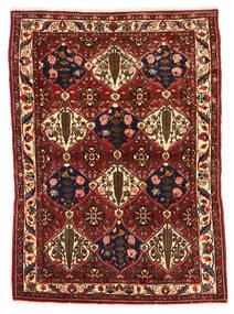 Bakhtiar Collectible Matta 106X149 Äkta Orientalisk Handknuten Mörkröd/Svart (Ull, Persien/Iran)