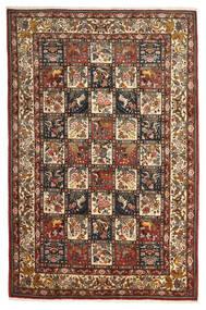 Bakhtiar Collectible Matta 207X313 Äkta Orientalisk Handknuten Mörkbrun/Ljusbrun (Ull, Persien/Iran)