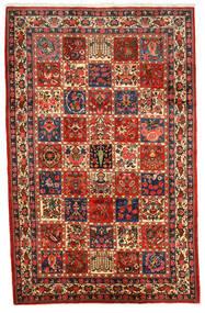 Bakhtiar Collectible Matta 200X309 Äkta Orientalisk Handknuten Mörkröd/Mörkbrun (Ull, Persien/Iran)