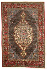 Bakhtiar Collectible Matta 200X300 Äkta Orientalisk Handknuten Mörkbrun/Ljusbrun (Ull, Persien/Iran)