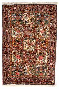 Bakhtiar Collectible Matta 102X151 Äkta Orientalisk Handknuten Mörkbrun/Mörkröd (Ull, Persien/Iran)