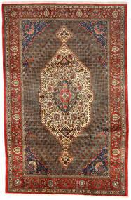 Bakhtiar Collectible Matta 200X306 Äkta Orientalisk Handknuten Mörkbrun/Ljusbrun (Ull, Persien/Iran)