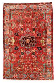 Nahavand Old Matta 152X235 Äkta Orientalisk Handknuten Mörkröd/Röd (Ull, Persien/Iran)