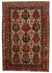 Bakhtiar Collectible Matta 206X302 Äkta Orientalisk Handknuten Mörkbrun/Mörkröd (Ull, Persien/Iran)