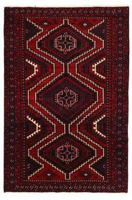 Lori Matta 178X260 Äkta Orientalisk Handknuten Mörkröd (Ull, Persien/Iran)
