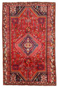 Shiraz Matta 171X272 Äkta Orientalisk Handknuten Mörkröd/Roströd (Ull, Persien/Iran)