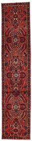 Mehraban Matta 81X392 Äkta Orientalisk Handknuten Hallmatta Mörkröd/Mörkbrun (Ull, Persien/Iran)
