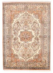 Kashmir Äkta Silke Matta 129X182 Äkta Orientalisk Handknuten Ljusrosa (Silke, Indien)