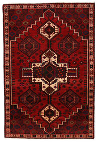 Lori Matta 168X254 Äkta Orientalisk Handknuten Mörkröd/Röd (Ull, Persien/Iran)