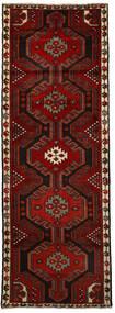 Hosseinabad Matta 76X216 Äkta Orientalisk Handknuten Hallmatta Mörkröd/Röd (Ull, Persien/Iran)