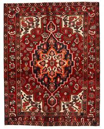 Bakhtiar Matta 154X198 Äkta Orientalisk Handknuten Mörkröd (Ull, Persien/Iran)