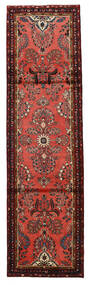 Mehraban Matta 87X313 Äkta Orientalisk Handknuten Hallmatta Mörkbrun/Mörkröd/Roströd (Ull, Persien/Iran)