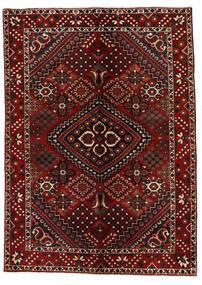 Bakhtiar Matta 142X200 Äkta Orientalisk Handknuten Mörkröd (Ull, Persien/Iran)