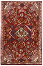 Nahavand Matta 135X212 Äkta Orientalisk Handknuten Mörkröd/Mörkgrå (Ull, Persien/Iran)