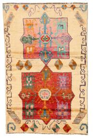 Moroccan Berber - Afghanistan Matta 116X180 Äkta Modern Handknuten Ljusbrun/Beige (Ull, Afghanistan)